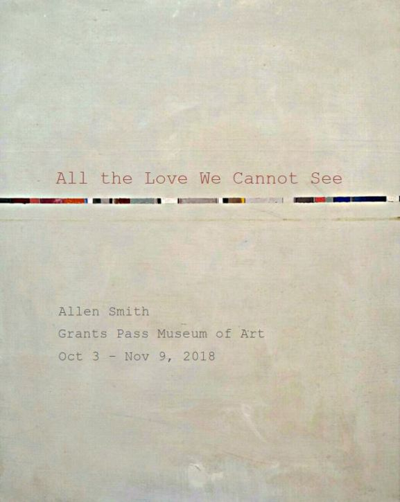 All the Love We Cannot See - postcard, 2018